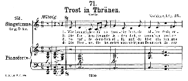 Trost in tränen D.120, Medium Voice in C Major, F. Schubert, C.F. Peters | eBooks | Sheet Music