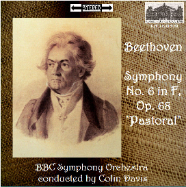 Beethoven: Sym. No. 6 Pastoral - BBC SO/Colin Davis