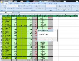working hours worksheet
