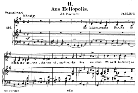 Aus Heliopolis D.753, Medium Voice in E Minor, F. Schubert (Pet.) | eBooks | Sheet Music