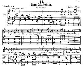 Das Mädchen D652, Medium Voice in G Major, F.Schubert, C.F. Peters | eBooks | Sheet Music