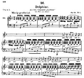 Delphine D.857-2, Medium Voice in F Major, F.Schubert , C.F. Peters | eBooks | Sheet Music