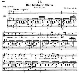 Der liebliche Stern D.861, Medium Voice in G Major, F. Schubert, C.F. Peters | eBooks | Sheet Music