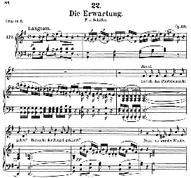 Die Erwartung D.159, Medium Voice in G Major, F. Schubert (Pet.) | eBooks | Sheet Music