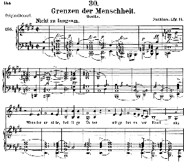 Grenzen der Menscheit D.716, Medium Voice in E Major, F. Schubert (Pet.) | eBooks | Sheet Music