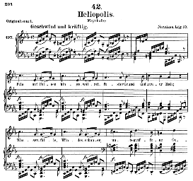Heliopolis D.754, Medium Voice in C Minor, F. Schubert (Pet.) | eBooks | Sheet Music
