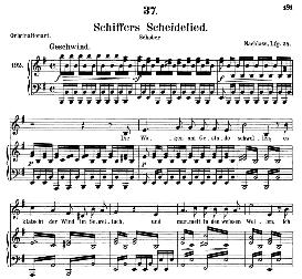 Schiffers Scheidelied D.910, Medium Voice in E Minor, F. Schubert (Pet.) | eBooks | Sheet Music