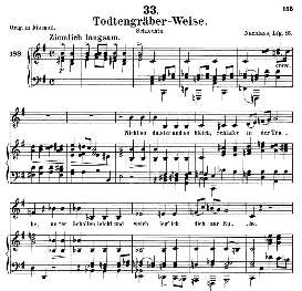 Todengräberweise D.869, Medium Voice in E Minor, Schubert (Pet.) | eBooks | Sheet Music