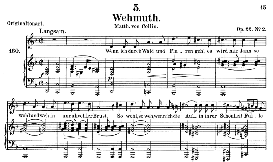 Wehmut D.762, Medium Voice in D Minor, F. Schubert (Pet.) | eBooks | Sheet Music