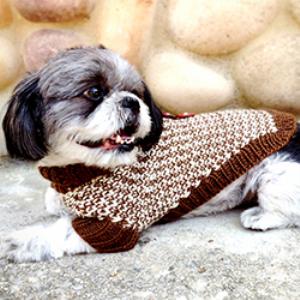 pattern for tweedledee and tweedledeena dog sweaters