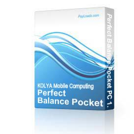 Perfect Balance Pocket PC 1.2 | Software | Mobile