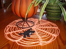 Halloween Spider Doily | eBooks | Arts and Crafts