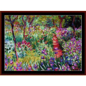 Monets Garden - Monet cross stitch pattern by Cross Stitch Collectibles | Crafting | Cross-Stitch | Other