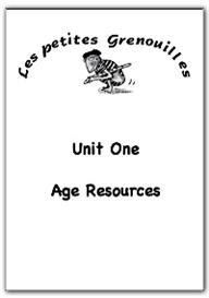 primary french resources - age