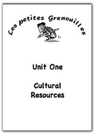 primary french resources - cultural
