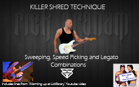 killer shred technique