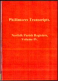 norfolk parish registers, volume iv