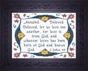 Name Blessings - Annabel | Crafting | Cross-Stitch | Religious