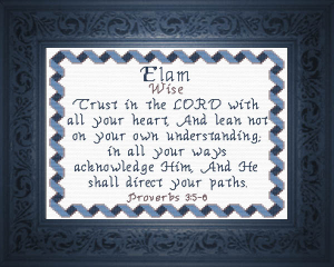 name blessings - elam