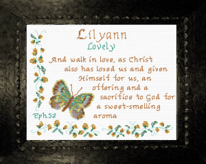Name Blessings - Lilyann | Crafting | Cross-Stitch | Other
