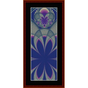Fractal 405 Bookmark - cross stitch pattern by Cross Stitch Collectibles | Crafting | Cross-Stitch | Other
