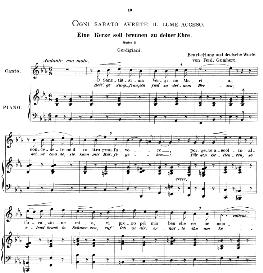 Ogni sabato avrete il lume acceso, High Voice in E Flat Major, L Gordigiani. Caecilia, Ed. André (1894) Vol. I, 906-a | eBooks | Sheet Music