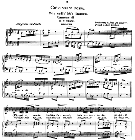 Ch'io mai vi possa, Medium Voice in C Minor, G. F. Haendel. Caecilia, Ed. André (1876) Vol. I, 906-b. PD | eBooks | Sheet Music