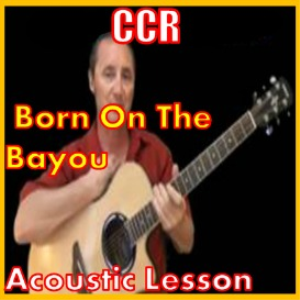 Learn to play Born On The Bayou by CCR | Movies and Videos | Educational