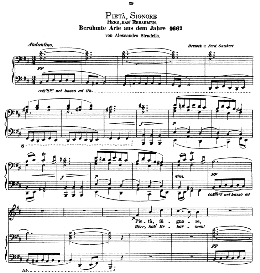 Pieta, Signore. Medium-Low Voice in B Minor, A Stradella. Ed. André (1876) Vol. I, 906-b. PD | eBooks | Sheet Music