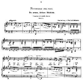 Ritornerai fra poco, Low Voice in C Minor, A. Hasse. Caecilia, Ed. André (1876) Vol. I, 906-c. PD | eBooks | Sheet Music