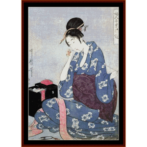 Needlework - Asian Art cross stitch pattern by Cross Stitch Collectibles | Crafting | Cross-Stitch | Wall Hangings
