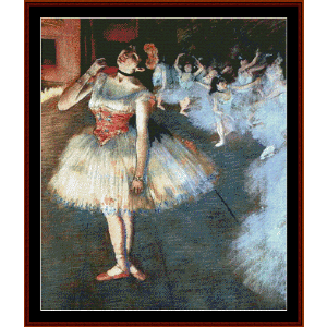 The Star - Degas cross stitch pattern by Cross Stitch Collectibles | Crafting | Cross-Stitch | Wall Hangings