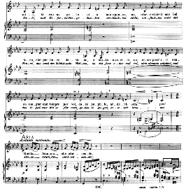 Quella fiamma, Low Voice in F Minor, B. Marcello.  Caecilia, Ed. André (1900) Vol. II, 906-f. PD | eBooks | Sheet Music
