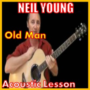 learn to play old man by neil young