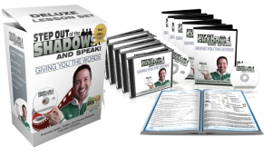 step out of the shadows and speak deluxe communication training program 1 (lessons 1-4)
