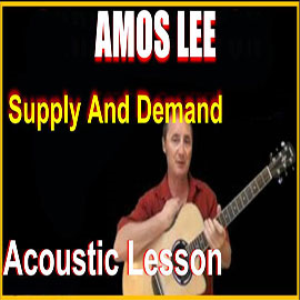 Learn to play Supply And Demand by Amos Lee | Movies and Videos | Educational