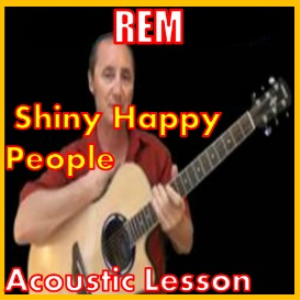 learn to play shiny happy people by rem