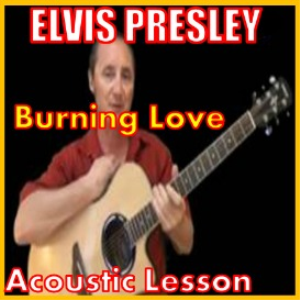 Learn to play Burning Love by Elvis Presley | Movies and Videos | Educational