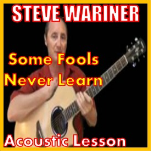 learn to play some fools never learn by steve wariner