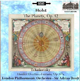 holst: the planets (1953 mono) - tchaikovsky: hamlet (1952 mono) - lpo/boult