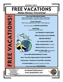 FREE VACATIONS: Make Money Traveling! | eBooks | Travel
