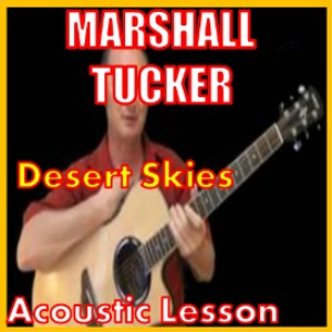 learn to play desert skies by the marshall tucker band