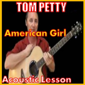 learn to play america girl by tom petty