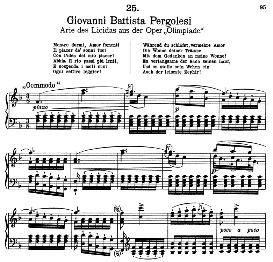 Mentre dormi, amor fomenti. G.B.Pergolesi. Alte Meister des Bel Canto, Ed. Peters (PD) | eBooks | Sheet Music