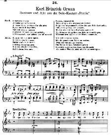 Disperata Porcia.... Quanto dolce, o caro sposo. K.H.Graun. Alte Meister des Bel Canto, Ed. Peters (PD) | eBooks | Sheet Music