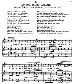 Quanto è bello il mio diletto. A.M.Abbatini. Alte Meister des Bel Canto, Ed. Peters (PD). | eBooks | Sheet Music
