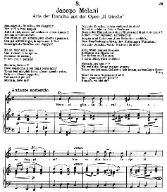 Sconsigliata Doralba. J.Melani. Alte Meister des Bel Canto, Ed. Peters (PD) | eBooks | Sheet Music
