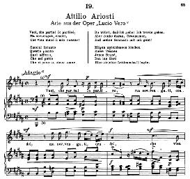 Vuoi, che parta! Io partiro... A.Ariosti. Alte Meister des Bel Canto, Ed. Peters (PD) | eBooks | Sheet Music
