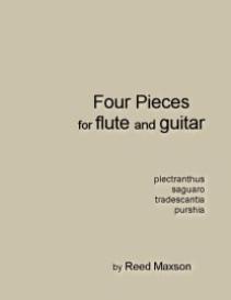 four pieces for flute and guitar