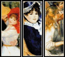 Renoir Bookmark Collection cross stitch patterns by Cross Stitch Collectibles | Crafting | Cross-Stitch | Other